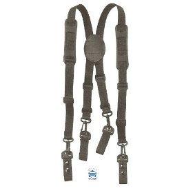 Nylon Police, Fire Adjustable Duty Belt SUSPENDERS, Fits: 2 Duty Belts By