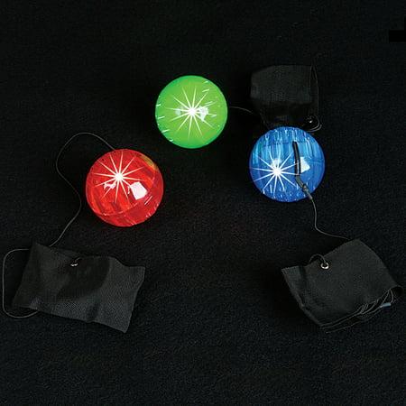 Flashing Ball (Lumistick LED Flashing Light Up Orbit Poi Ball)