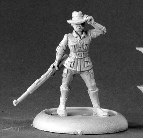 Reaper Miniatures John Kincaide, Big Game Hunter #50096 Chronoscope Mini Figure
