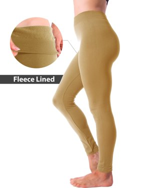be548390014c Product Image Winter Warm Fleece Lined Thick Brushed Full Length Leggings  Thights Pants