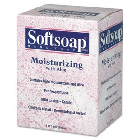 Colgate 01924Ea Moisturizing Soap W Aloe  Unscented Liquid  Dispenser  800Ml