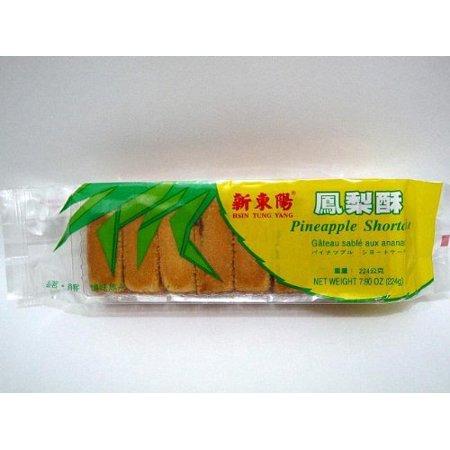 H.T.Y - PineApple Cake 8.3oz z (Pack of 1) (0.5 Kg Pineapple Cake)