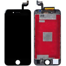 "AAA Quality Apple iPhone 6S 4.7 "" LCD Screen and Digitizer Assembly with Frame Replacement – Black - image 1 de 1"