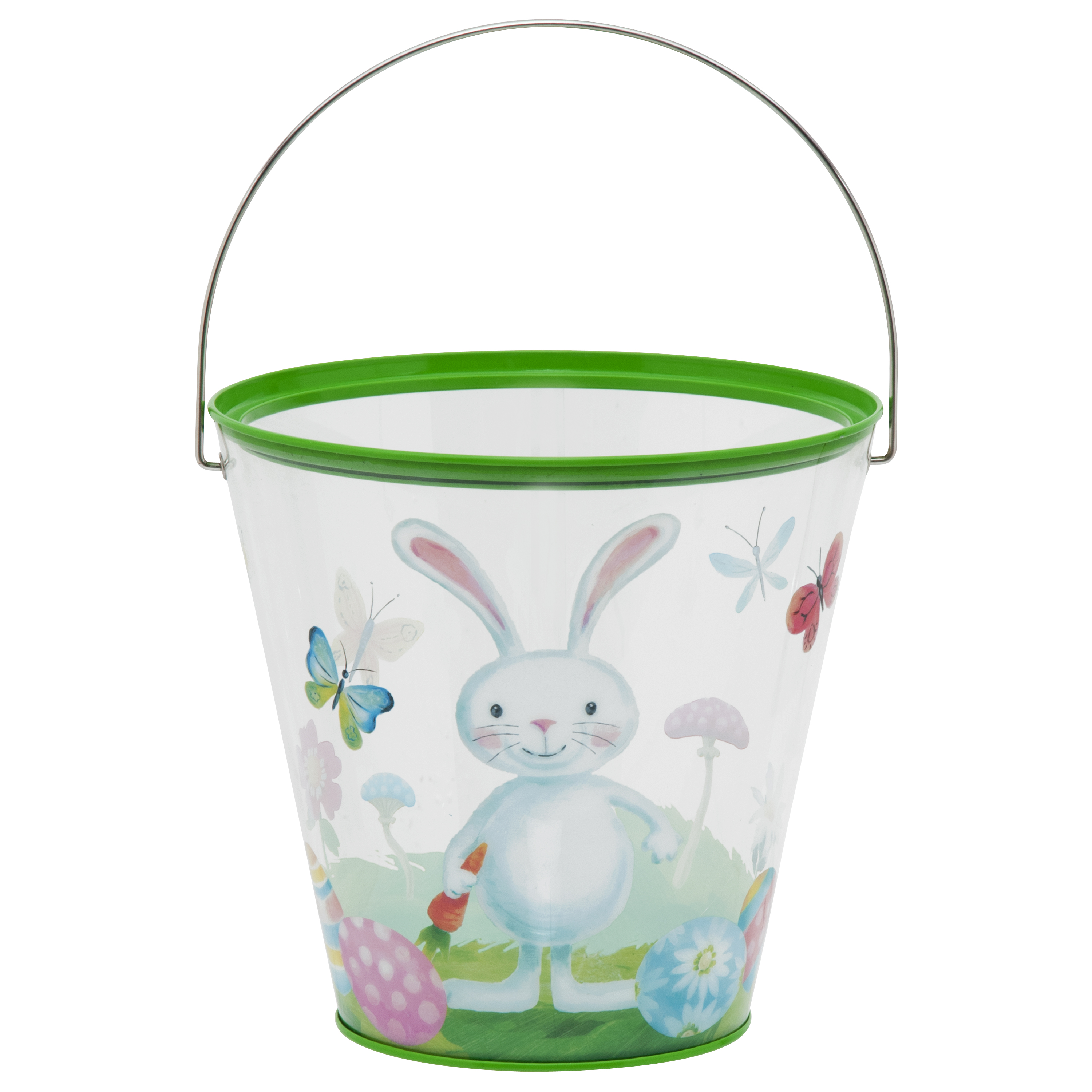 Easter Large Clear Tin Bunny