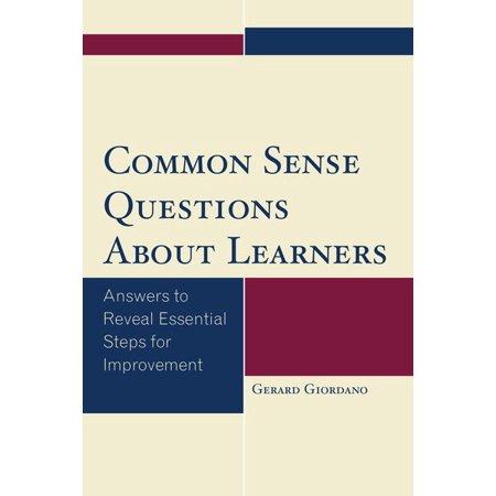 Common Sense Questions Common Sense Qu...