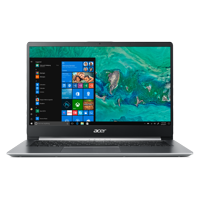 "Acer Swift 1, 14"" Full HD Notebook, Intel Pentium Silver N5000, 4GB, 64GB SSD, Windows 10 Home in S mode, Office 365 Personal 1-Year, SF114-32-P2PK (Google Classroom Compatible)"