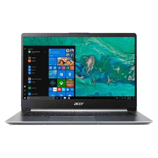 "Acer Swift 1, 14"" Full HD Notebook, Intel Pentium Silver N5000, 4GB, 64GB SSD, Windows 10 Home in S mode, Office 365 Personal 1-Year, SF114-32-P2PK"