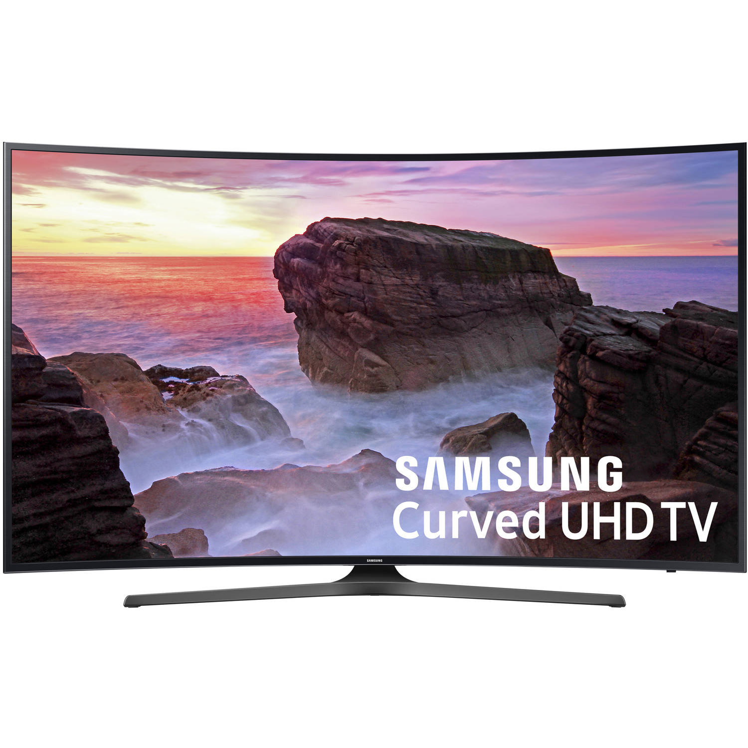 "Refurbished Samsung 49"" Class 4K (2160P) Curved Smart LED TV (UN49MU6500FXZA)"