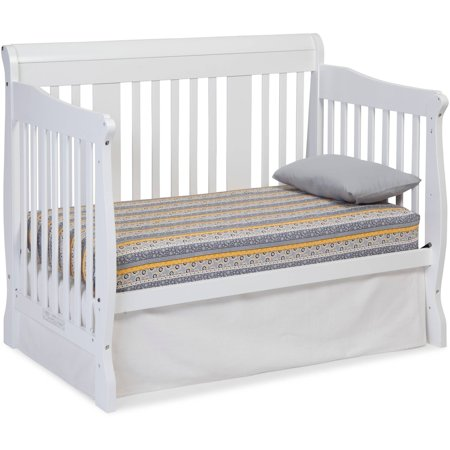 storkcraft tuscany 4 in 1 convertible crib white best cribs. Black Bedroom Furniture Sets. Home Design Ideas