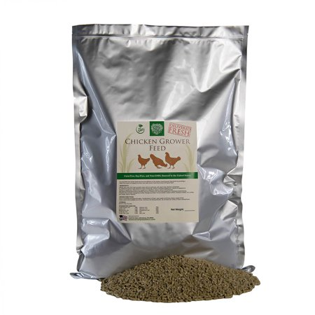 Small Pet Select Garden Goodness Grower Chicken Feed with Pumpkin Seeds (Corn-Free, Soy-Free, Non-GMO)
