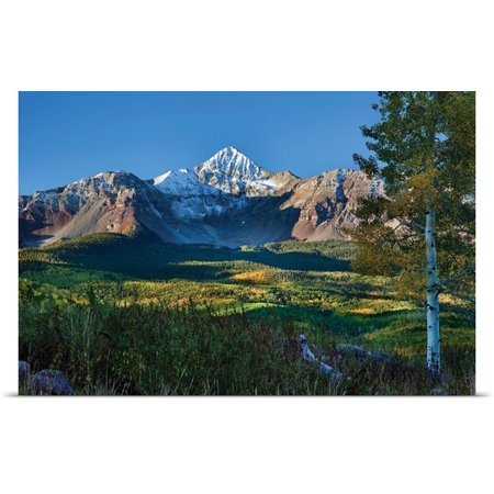 Great Big Canvas Larry Malvin Poster Print Entitled Wilson Peak Aspens Ii