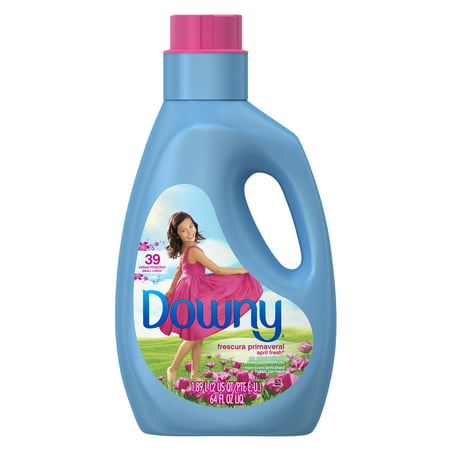 Downy, April Fresh, Non-concentrated Liquid Fabric Softener, 64 oz 39 loads