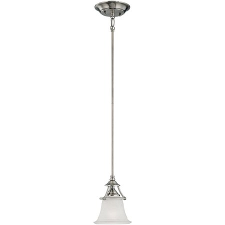 Pendants 1 Light Fixtures With Satin Pewter Finish Metal Material E26 7