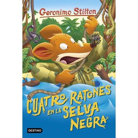 Cuatro ratones en la Selva Negra - eBook