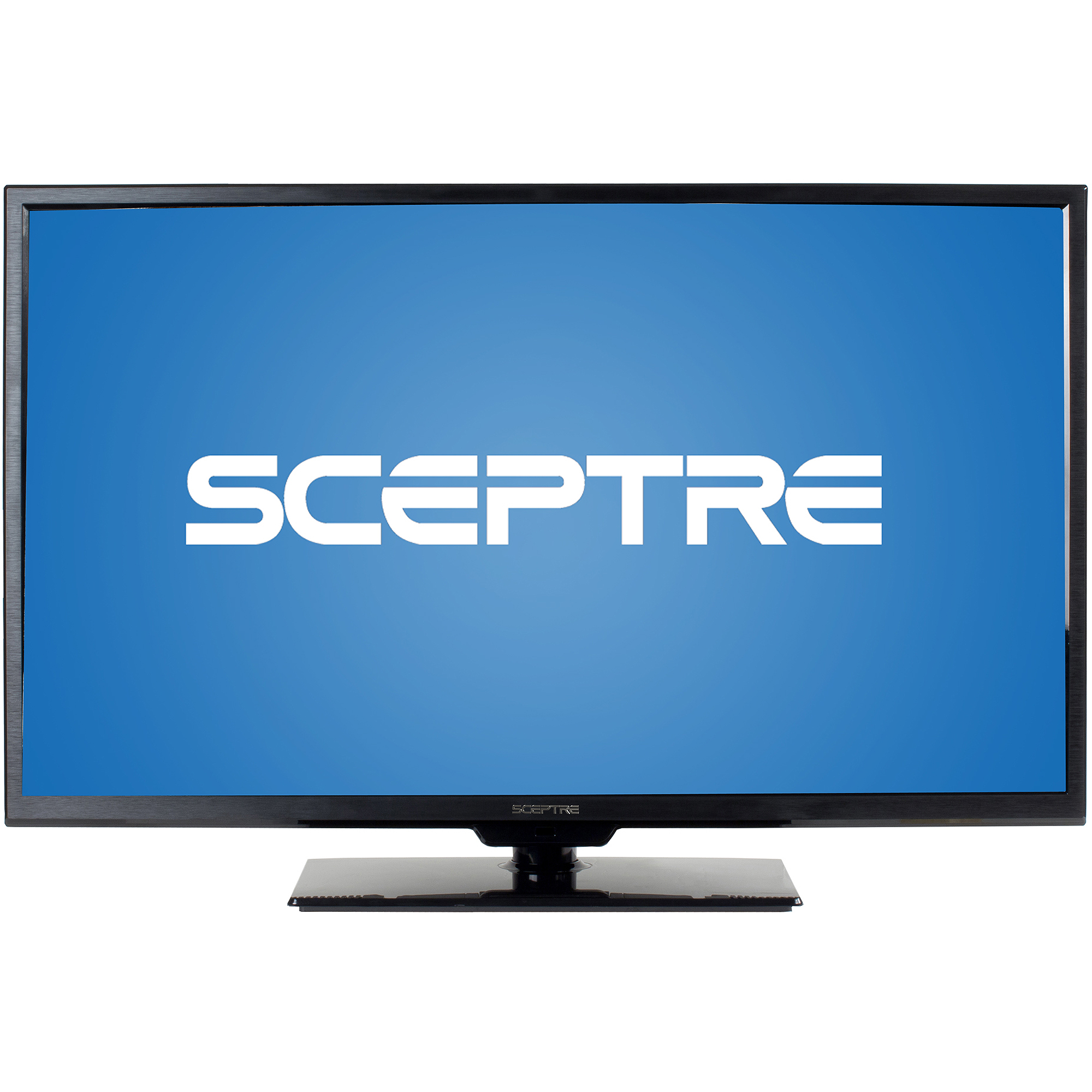"SCEPTRE X325BV-F 32"" LED Class 1080P HDTV with Ultra-Slim Metal Brush Bezel, MHL"