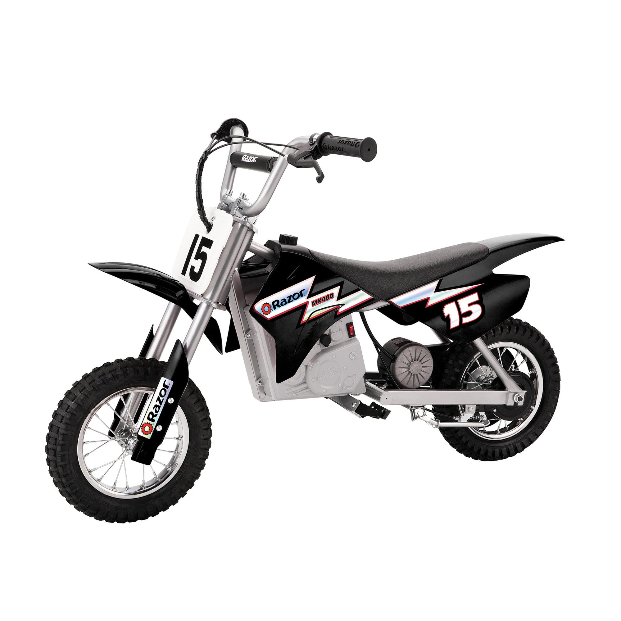Razor MX350 Dirt Rocket 24V Electric Toy Motocross Motorcycle Dirt Bike, Black by Razor