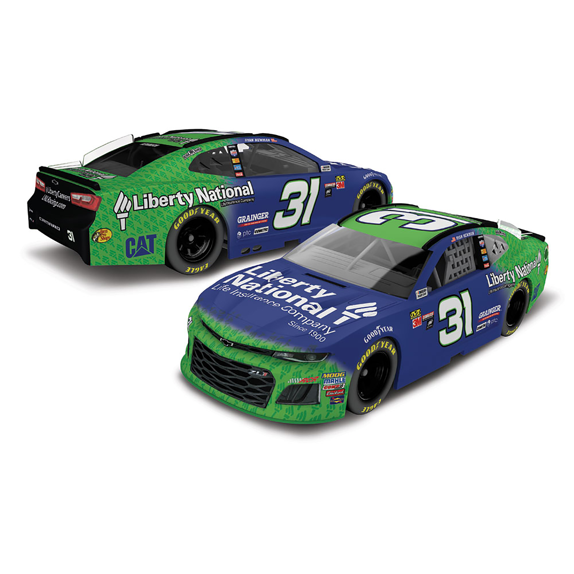 Ryan Newman Action Racing 2018 #31 Liberty National 1:64 Monster Energy Nascar Cup Series... by Lionel LLC