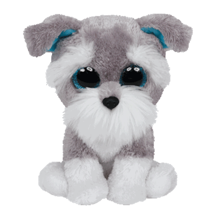 Puppy Beanie (Ty Inc. - Beanie Boo - Whisker the Puppy Dog - Medium )