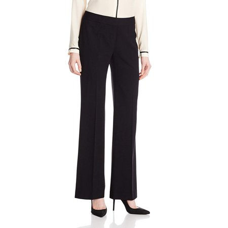 Womens Bi-Stretch Modern Flat-Front Dress Pants 8