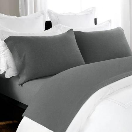 Briarwood Home 100pct Cotton Heathered Jersey Sheet Set