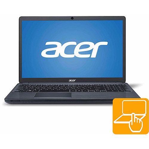"Acer Gray 15.6"" V5-561P-6823 Laptop PC with Intel Core i5-4200U Processor, 6GB Memory, Touchscreen, 1TB Hard Drive and Windows 8.1"