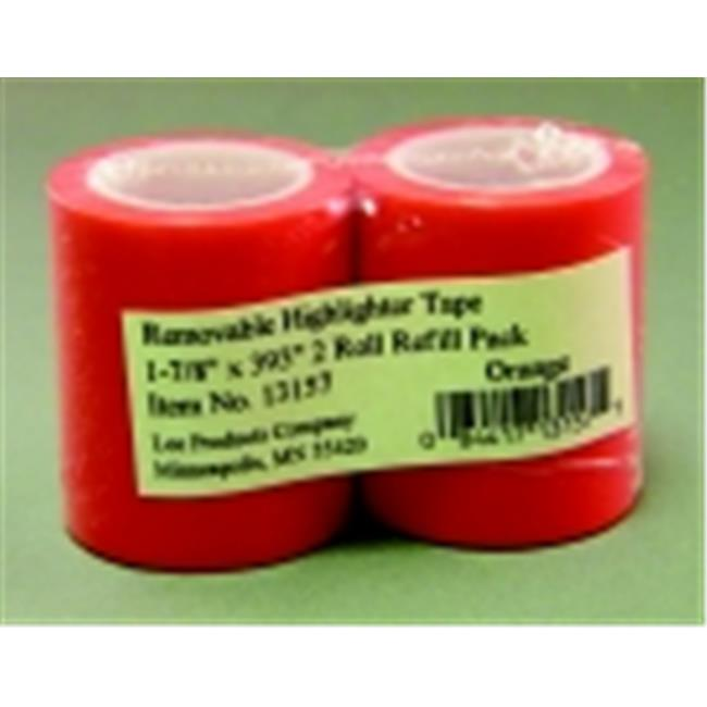 Lee Products 1.87 in. Highlighter Tape Refill - Purple, Pack 2