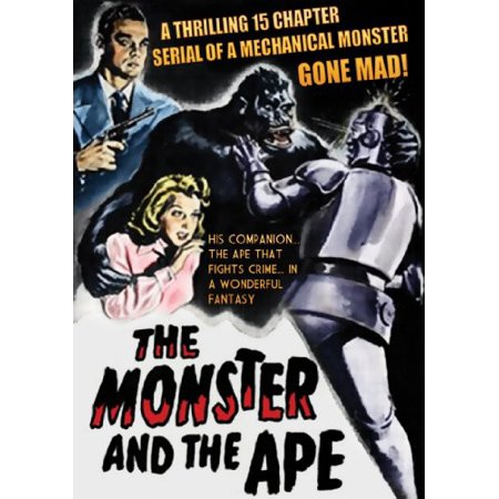The Monster and the Ape (DVD) (Best Horror Action Anime)