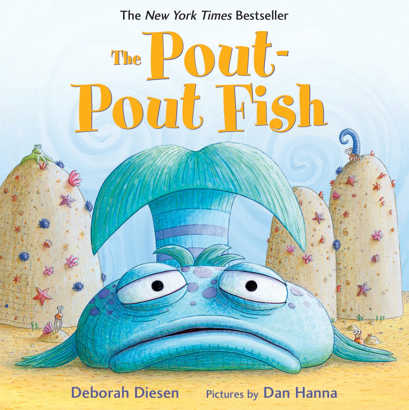 Pout Pout Fish (Board Book)