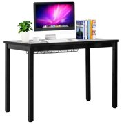 Gymax 42'' Computer Desk PC Laptop Table w/Cable Organizer Sturdy Writing Desk