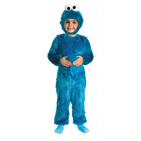 Costumes For All Occasions Dg25965S Sesame St Cookie Monster 2T (Cookie Moster Costume)