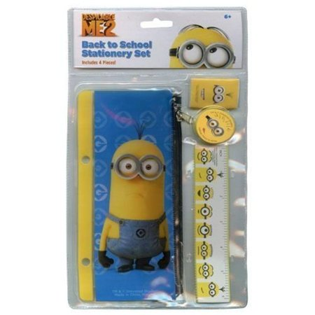 Despicable Me School Supply Stationery Set