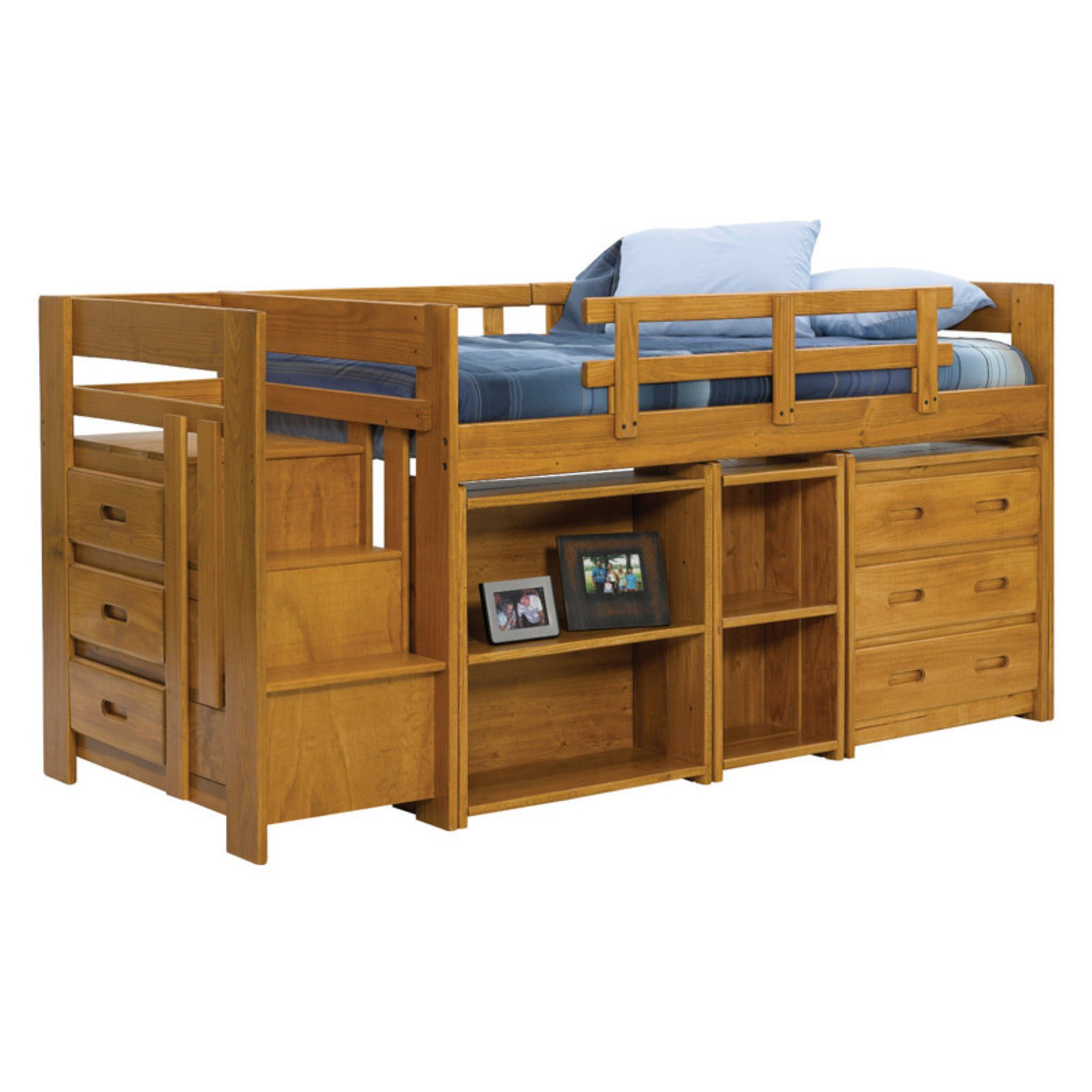 Woodcrest Heartland Mini Stair Loft Bed