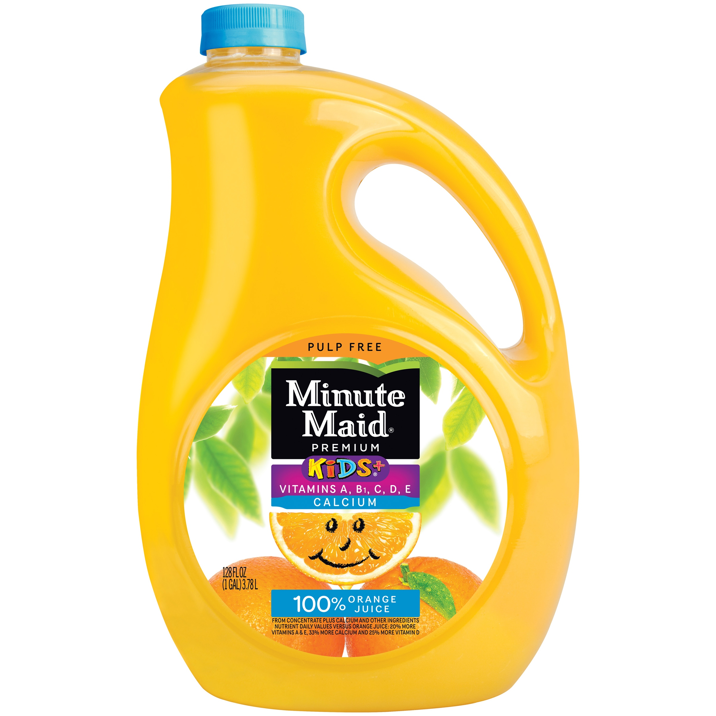 Minute Maid® Kids+® Pulp Free 100% Orange Juice 128 fl. oz. Jug