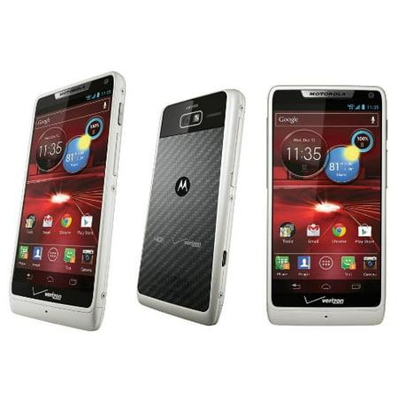 Motorola Droid XT907 RAZA M - White (Verizon) Android Smartphone  Manufacturer refurbished (M Horse Smartphone)