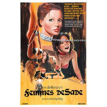 Femmes deSade POSTER Movie Mini Promo for $<!---->