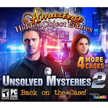 Unsolved Mysteries 2: Amazing Hidden Object Games (PC), 4 Pack (Hidden Object Games Pc)