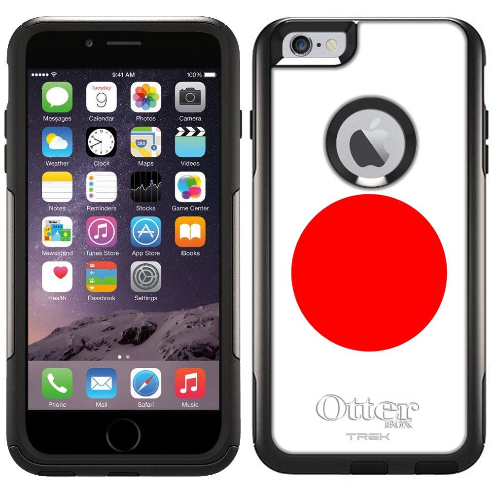 Otterbox Commuter Case for Apple iPhone 6 Plus Japan Flag by Trek Media Group