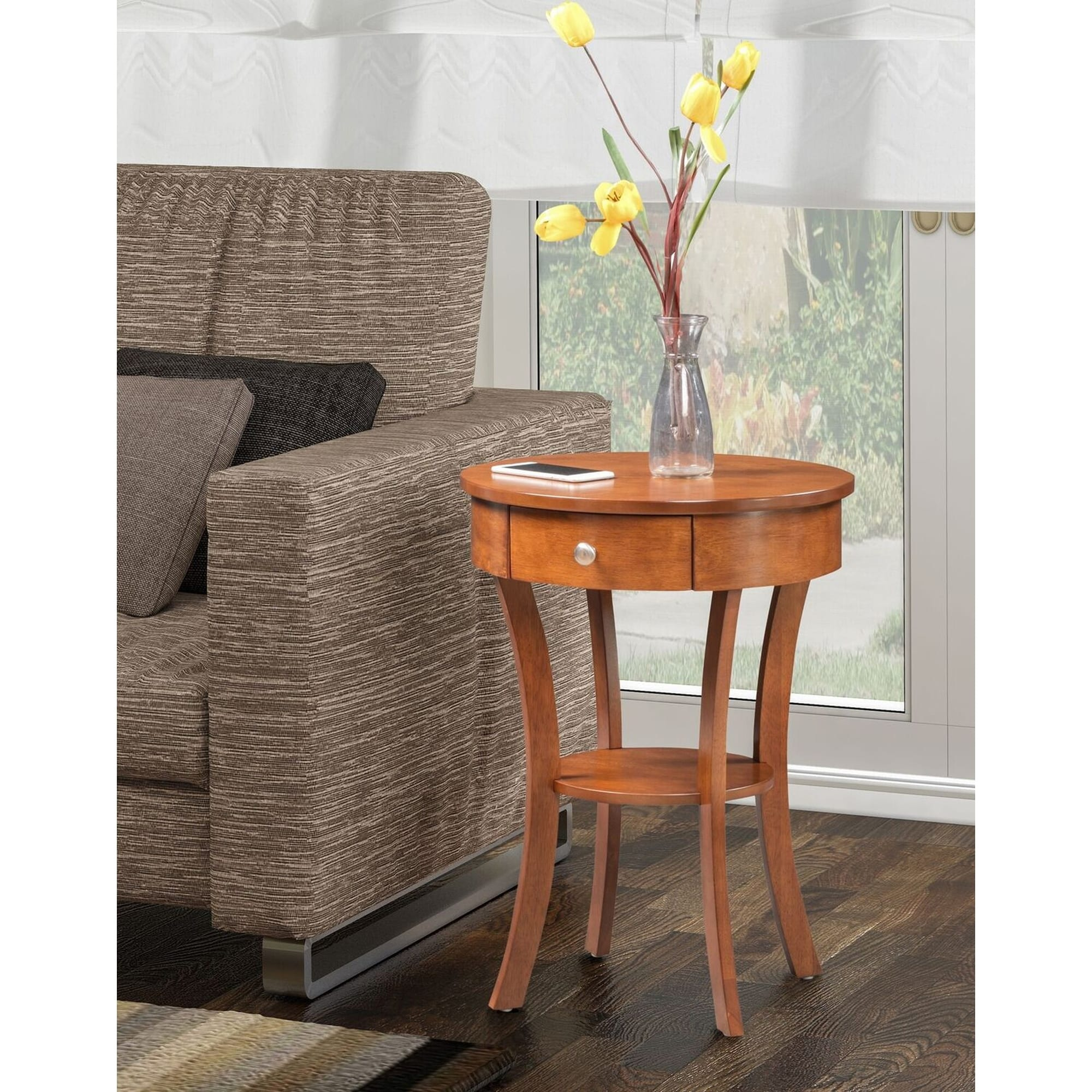 Convenience Concepts Classic Accents Schaffer End Table, Multiple Finishes by Convenience Concepts Inc
