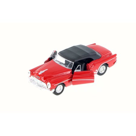 Buick Skylark Top Up Convertible, Red Top Up - Welly 43664H - 1/34 Scale Diecast Model Toy Car (Brand New but NO BOX)