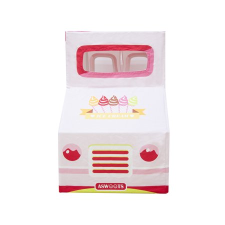 Asweets Ice Cream Truck Indoor Canvas Playhouse Play Tent For