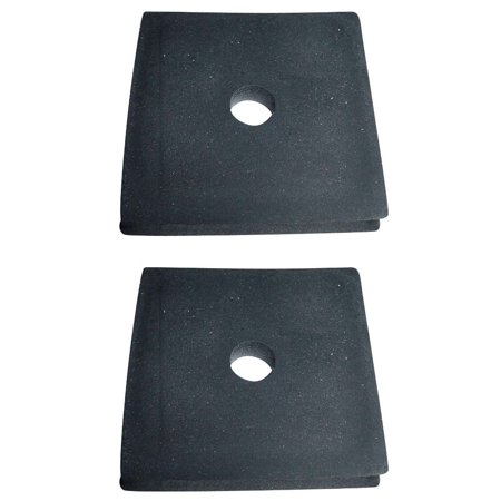 B9NN8125A Set of 2 Radiator Rubber Support Mount Pads for Farmall 100 200 Radiator Mounting Rubber