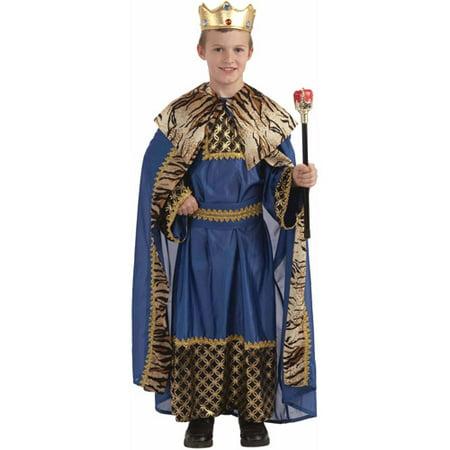 King of the Kingdoms Child Christmas Costume