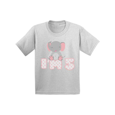 Awkward Styles 5th Birthday Toddler Shirt Elephant Gifts For 5 Year Old Fifth My