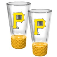 Pittsburgh Pirates 2-Pack Cheer Shot Set with Silicone Grip