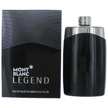 Mont Blanc Legend For Men 6.7 oz / 200 ml Eau De Toilette Big Size (Mont Blanc Legend Eau De Toilette Spray)