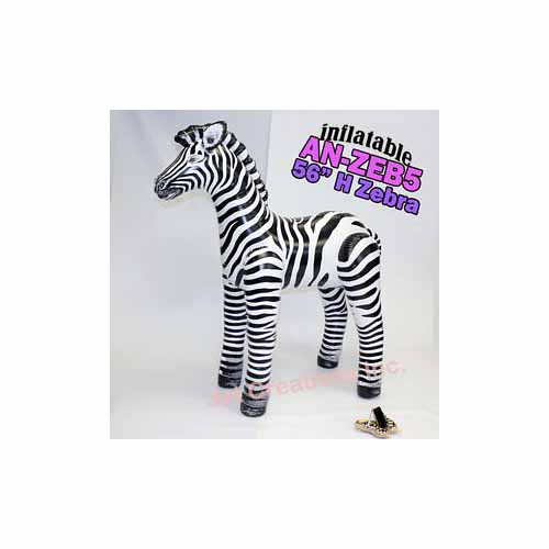 Inflatable Zebra by Jet Creations - AN-ZEB5