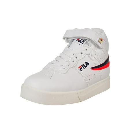 Fila Boys' Vulc 13 Mid Plus Hi-Top Sneakers (Sizes 11 - 5)
