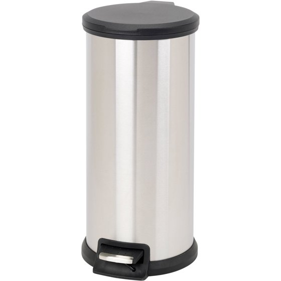 Better homes and gardens gallon stainless steel easy - Better homes and gardens trash can ...