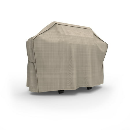Budge Grill Cover Extra Large 70 X22 X42 Tan Tweed English