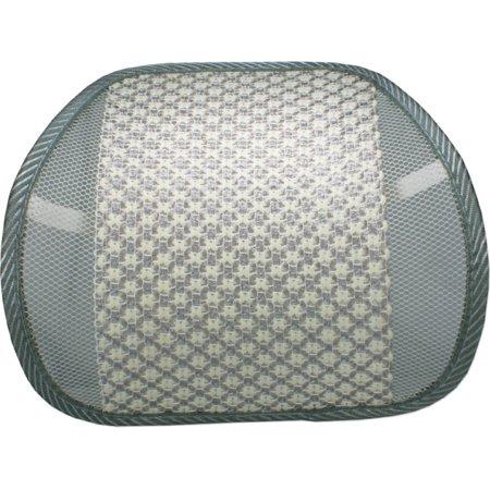 QVS LBP-2A Premium Ergonomic Lumbar Back Support with Woven Pad